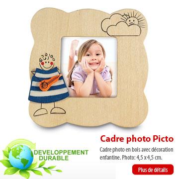 Cadre photo picto sur agencetapisrouge.com
