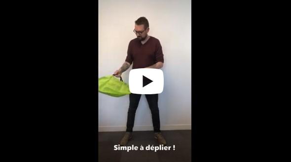 Vidéo démo du sac B'POP