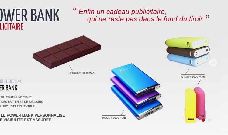 power bank publicitaire