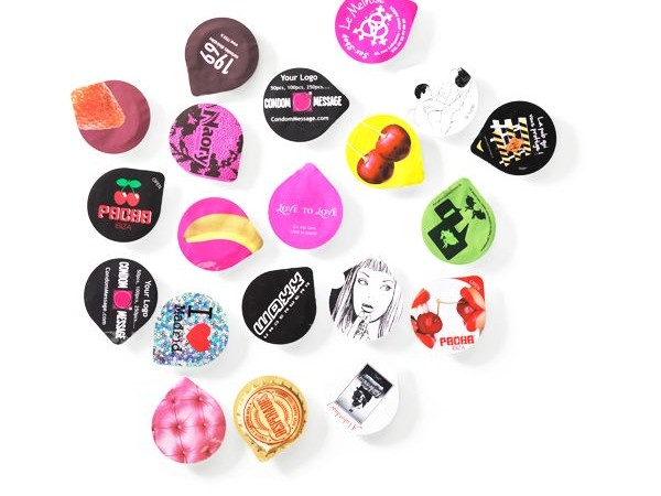 preservatif en capsule personnalisable