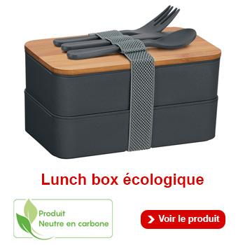 Boîte à repas écologique à personnaliser